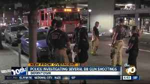 Police investigating several BB gun shootings around downtown San Diego [Video]