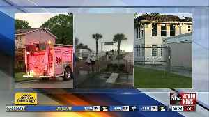 Lightning blamed for multiple fires across the Tampa Bay area in one day [Video]
