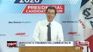Democratic Presidential Candidates Campaigning in Iowa [Video]