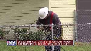 350,000 DTE customers still without power after weekend storms [Video]