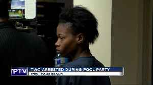 Man and woman arrested after violently crashing pool party in West Palm Beach [Video]