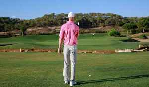 Pitching off a downslope [Video]