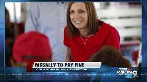 McSally fined $23,000 for 2014 campaign finance violations [Video]