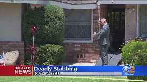 2 Stabbed -- 1 Fatally -- Inside South Whittier Home [Video]