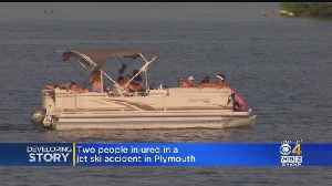 Plymouth Jet Ski Accident Leaves One Woman Injured, Police Looking For Answers [Video]