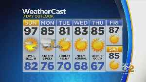 New York Weather: CBS2 7/20 Nightly Forecast at 11PM [Video]