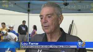 Beloved Football Coach Humbled When Community Comes Out To Support Him [Video]