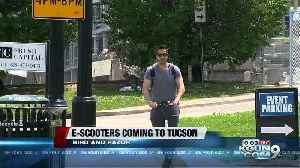 E-Scooters may be coming to Tucson streets [Video]