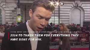Will Poulter gave BAFTA to parents [Video]