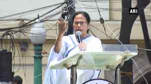 Martyrs' Day rally: Mamata Banerjee suspects EVM, CRPF role in BJP's LS win [Video]