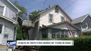 8 Days of Hope fixes homes of those in need for free [Video]