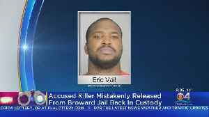 Murder Suspect Mistakenly Released From Jail Appears Before Judge [Video]