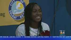Local Teen Tennis Star Coco Gauff Returns Home After Inspiring Run At Wimbledon [Video]
