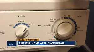 Here are some tips for home appliance repair [Video]
