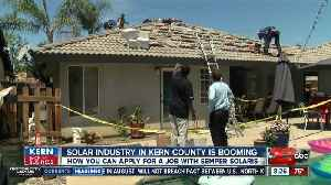 Kern Back In Business: Local solar company constantly hiring to keep up with demand [Video]