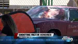Car show held in honor of victim shot on I-19 [Video]