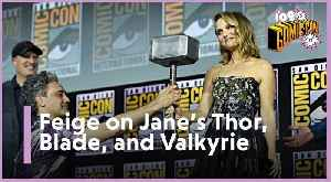 SDCC 2019 | Kevin Feige on Jane Foster (Natalie Portman) Becoming Thor and Mahershala Ali As Blade [Video]