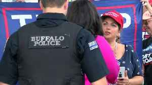 Dueling rallies held in Buffalo [Video]