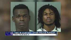 2 arrested after injuring officer while fleeing police in West Palm Beach [Video]