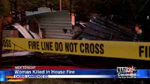 ONE WOMAN FOUND DEAD IN EARLY MORNING HOUSE FIRE IN LAWRENCE COUNTY [Video]