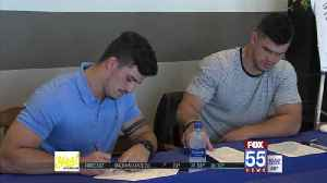 Tranquill Brothers Return to Their Roots at Carroll Football Fundraiser [Video]
