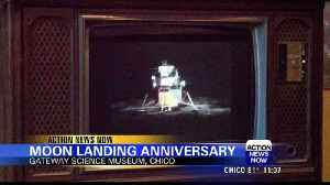 News video: Moon landing anniversary celebrated at Gateway Science Museum