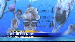 Paradise pool is opening again [Video]