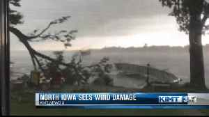 North Iowa cleaning up after Saturday morning storms [Video]