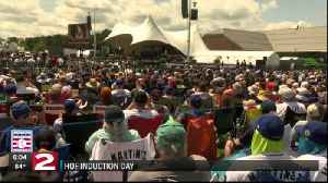 Baseball Hall of Fame inductions [Video]