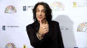 KISS Paul Stanley 2019 Flaunt It Awards Red Carpet [Video]