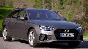 Audi A4 Avant TDI Design Preview [Video]