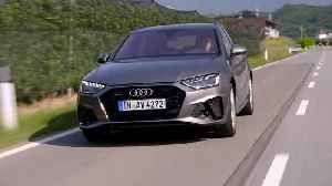 Audi A4 Avant TDI Driving Video [Video]