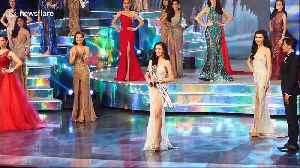 Transgender women compete at Miss Tiffany's Universe beauty contest in Thailand [Video]
