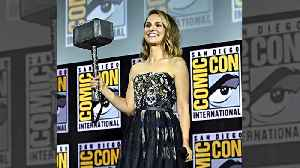 Natalie Portman to play Thor [Video]