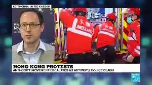 Were police officers in HK colluding with thugs? [Video]