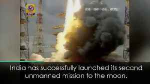 India launches unmanned moon mission [Video]