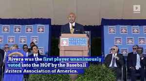 Mariano Rivera Shines at Baseball Hall of Fame Ceremony [Video]