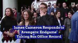 James Cameron Responds to 'Avengers: Endgame' Taking Box Office Record [Video]