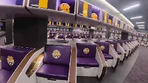 How Does LSU's New Locker Room Compare to College Football's Other Top Facilities? [Video]