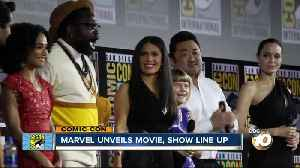 Marvel unveils new movie, tv line up [Video]