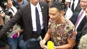 News video: 'Tomb Raider' Star Simon Yam in Hospital After Stabbing