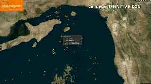 """Iran says it seized tanker after collision, UK calls it a """"hostile act"""" [Video]"""