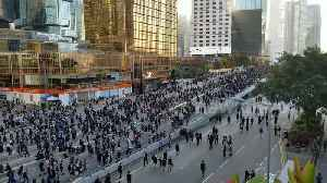 Tens of thousands attend Hong Kong pro-democracy protest [Video]
