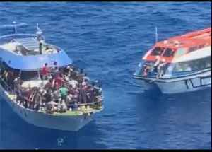 Cruise Ship Rescues 111 Migrants Off of Peloponnese Peninsula [Video]