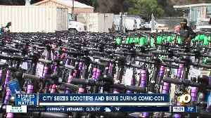 Companies try to recover scooters seized during Comic-Con weekend [Video]