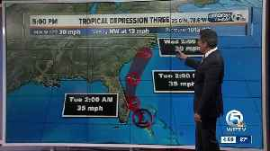 Tropical Depression 3 forms off of Florida [Video]