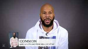 Common on the definition of LOVE [Video]