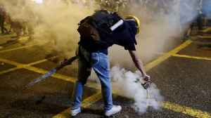 Hong Kong protests: 'Riot police are moving in' [Video]