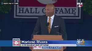 Mariano Has His Day In Cooperstown [Video]