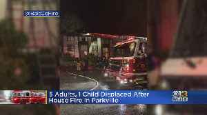 5 Adults, Child Displaced After Fire In Parkville [Video]